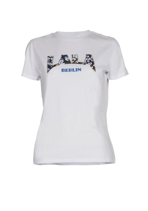 lala Berlin - T-Shirt Reda lala Leo white