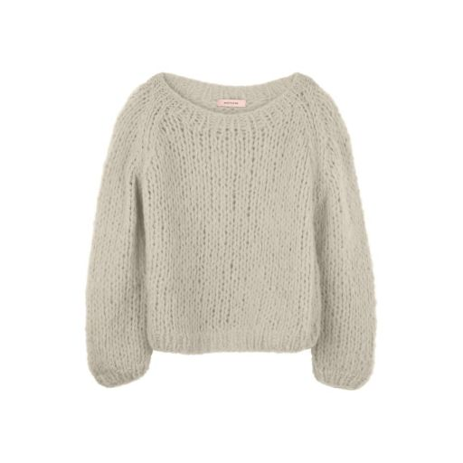 Another Me - Strickpullover Mouse Grey