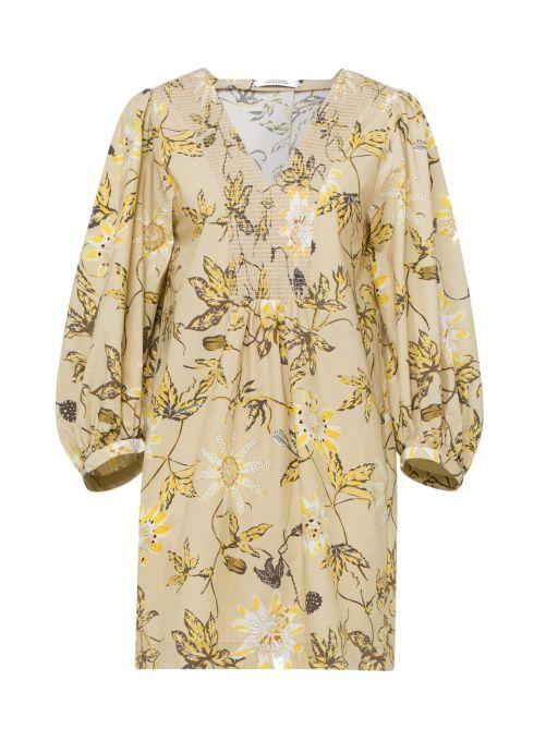 Dorothee Schumacher - Kleid mit gesmoktem Ausschnitt