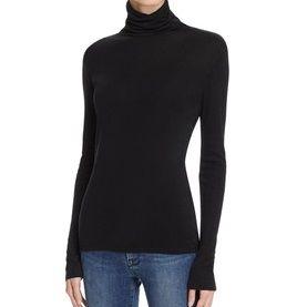 Rosemunde - Shirt mit langem Arm und Rollkragen schwarz