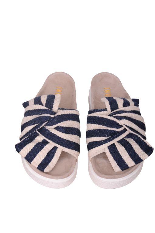 Inuikii - Sandale mit Knotendetail