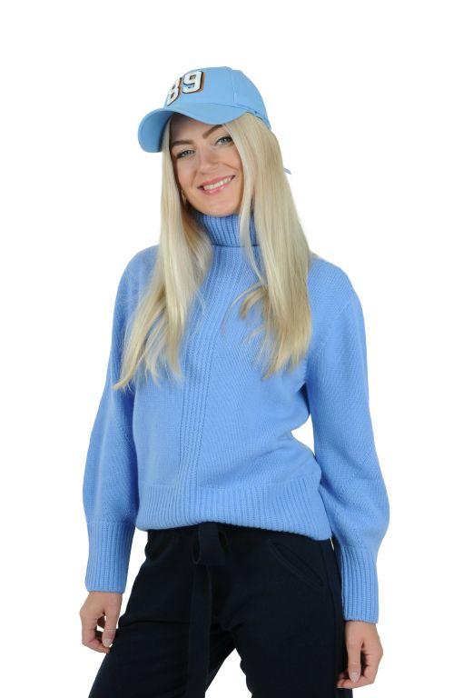 Tabaroni Cashmere - Pullover mit Rollkragen