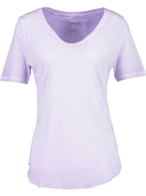 Better Rich - T-Shirt mit abgerundetem Saum flieder