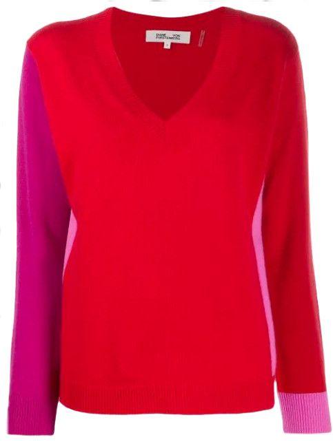 Diane von Furstenberg - Pullover Colour Blocking
