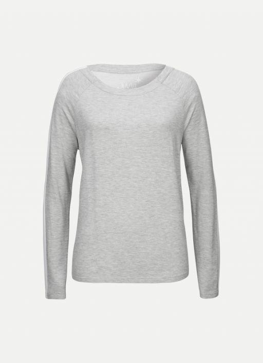 Juvia - Sweater grau meliert