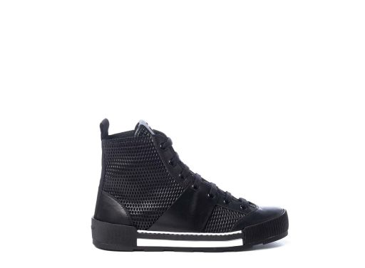 Vic Matié - High Top Sneaker in Netzoptik