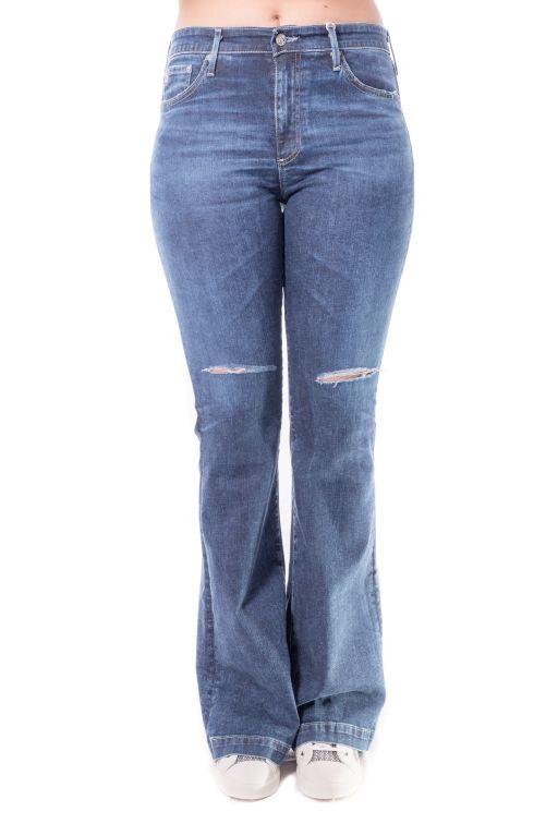 AG Jeans - The Janis High Rise flare mit Schlag und hohem Bund