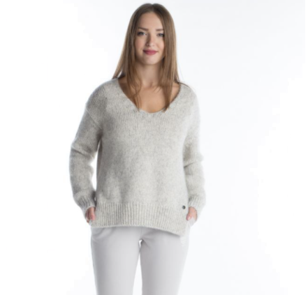 Better Rich - V-Neck Strickpullover