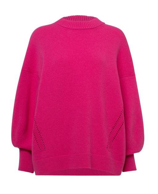 Dorothee Schumacher - Oversized Pullover mit Loch-Details