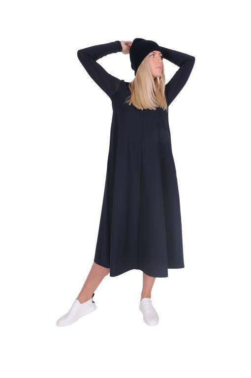 Max Mara - Schlichtes Kleid mit Eingrifftaschen