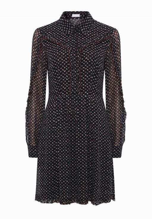 lala Berlin - Kleid LASCARLA mit langem Arm