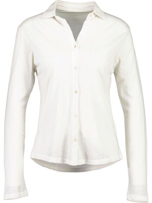 Better Rich - Langarm Poloshirt off-white