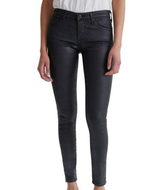 AG Jeans - Legging Ankle mit leichtem Glanz