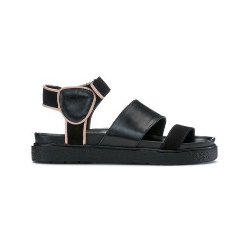 Inuikii - Sandale black mit Fersenriemen
