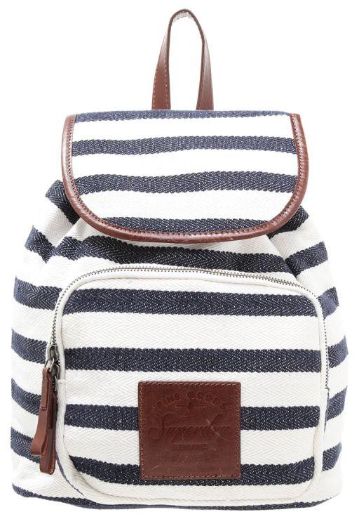 Superdry - Ivory Coast Backpack navy/white