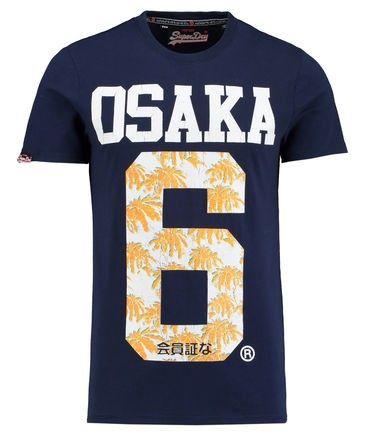 """Superdry Herren T-Shirt """"Osaka 3D Palm Tee"""""""