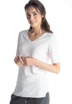 Better Rich - Schlichtes T-Shirt mit V- Ausschnitt
