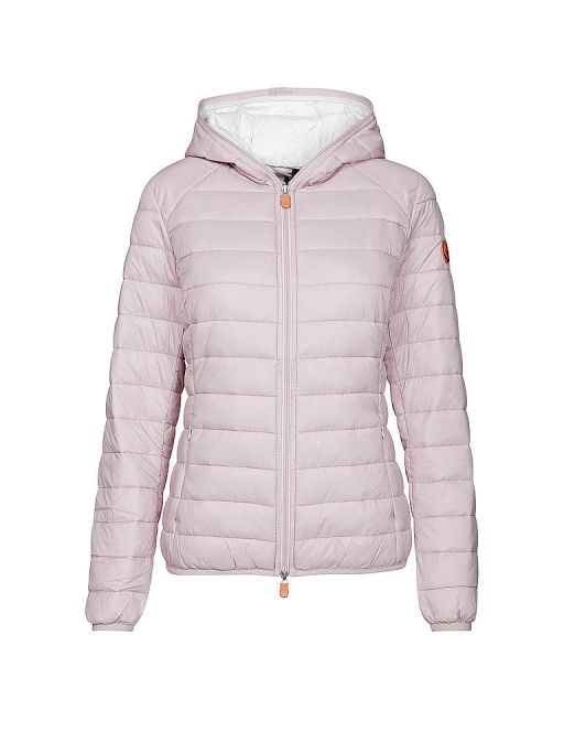 Save The Duck - Wattierte Steppjacke mit Kapuze blush pink