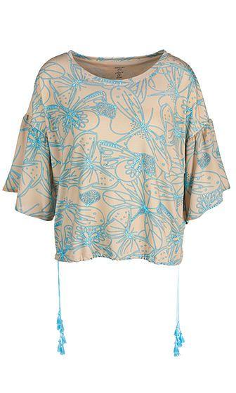 Marc Cain - Weites Shirt aus Viskosestretch