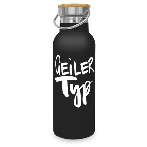 "Steel Bottle ""Geiler Typ"""