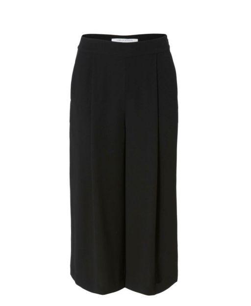 Diane von Fürstenberg - Culotte mit Bundfalte schwarz