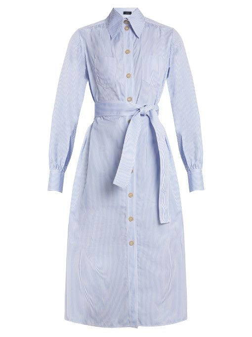 Joseph - Arden Retro Stripe Hemdblusenkleid