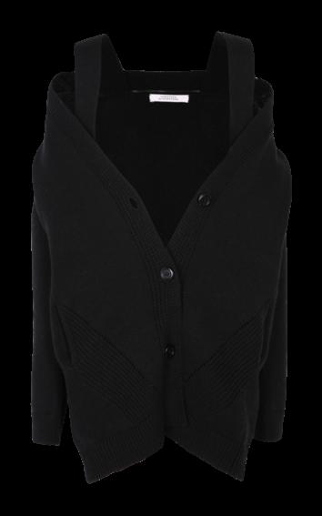 Dorothee Schumacher - Soft Play Coat V-Neck black
