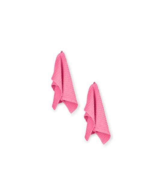 Handtuch soft pink 2 teilig