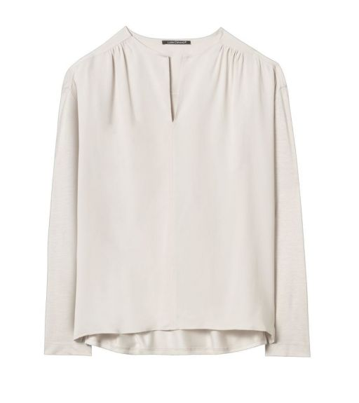 Luisa Cerano - Langarm Shirt ivory
