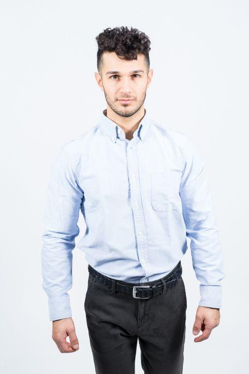 Hartford - Herrenhemd in Jeansoptik