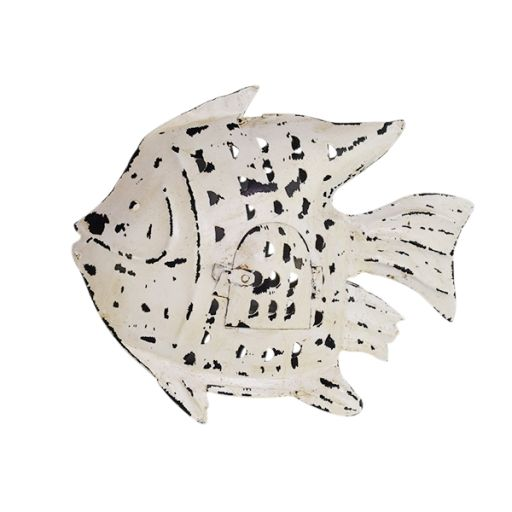 Fisch mit Teelichteinsatz mittel