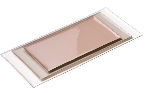 Tablett Elektra 3er-Set rose