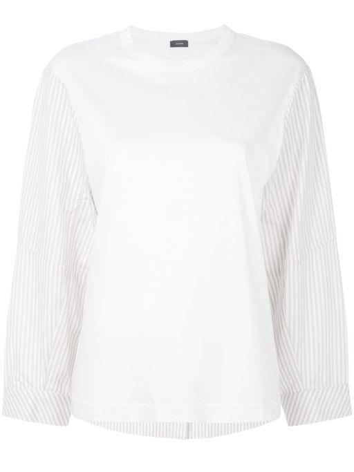 Joseph - Jersey und Candy Stripe Langarmshirt