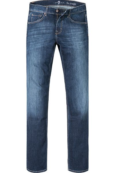 7 For All Mankind - Herrenjeans The Modern Straight Dark used