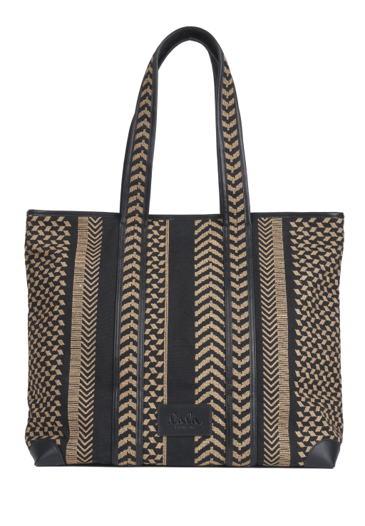 lala Berlin - Tote Bag Adrianne Kufyia X-Stitch