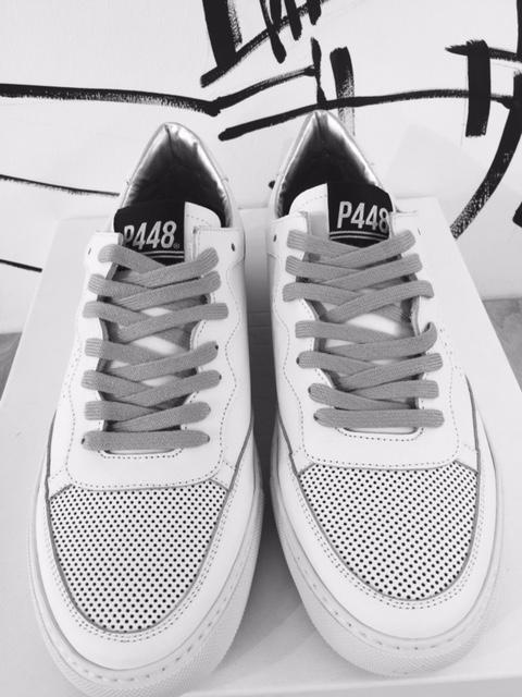 P448 - Herren Sneaker mit Netzeinsatz   Herbst Winter 2017 ... d3848c4985