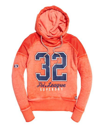 Superdry - Tri League Slouch Hoodie