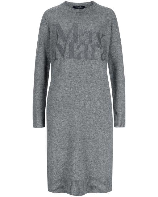 Max Mara - Strickkleid mit Logo