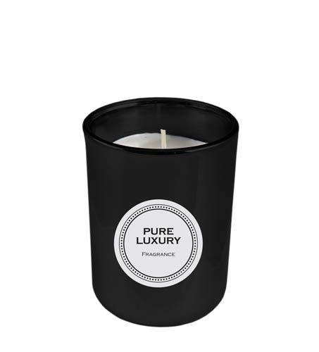 Duftkerze Pure Luxury schwarz