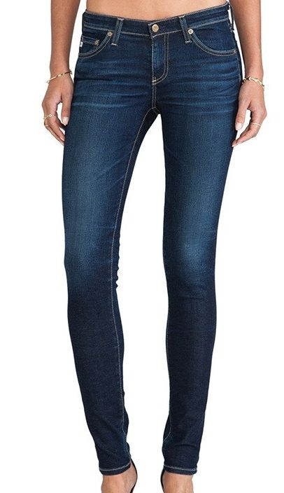 AG Jeans -The Legging super skinny blau