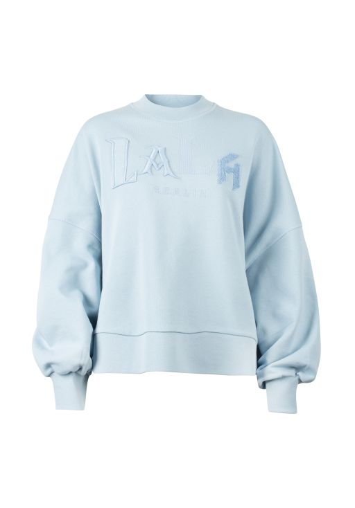 lala Berlin - Sweatshirt in großer Passform Light blue