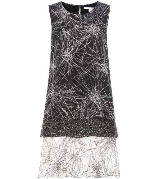 Diane von Fürstenberg - Kleid aus Seidenchiffon