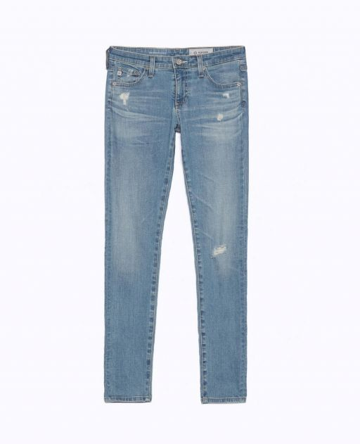 AG Jeans - The Legging Ankle, Super Skinny Ankle blau