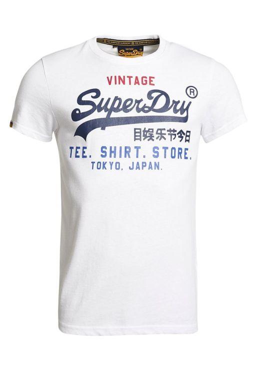 "Superdry Herren T-Shirt ""Shop Tri Tee"""