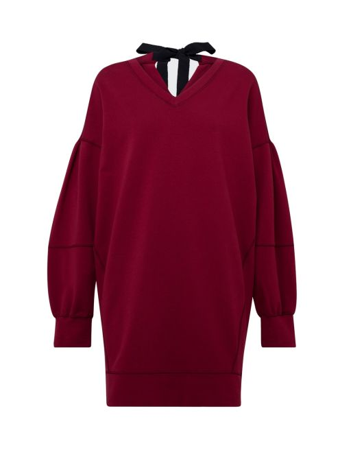 Dorothee Schumacher - Sweatshirt Dress ruby red