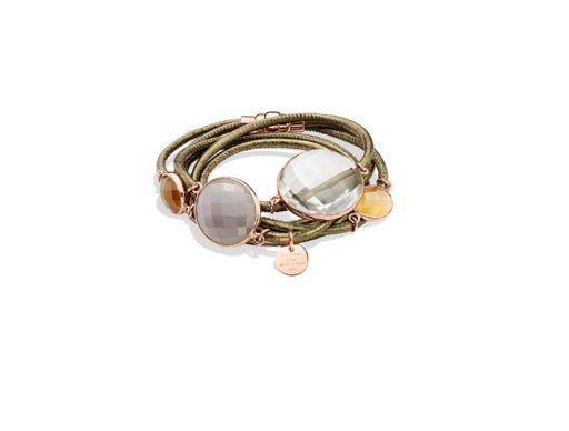 Marjana von Berlepsch - Armband mit Bergkristall und Mondstein