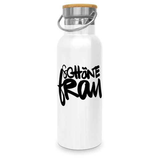 "Steel Bottle ""Schöne Frau"""