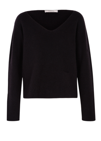 Dorothee Schumacher - Drape and Dream Pullover black