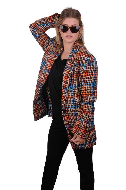 Dorothee Schumacher - Checked Blazer Oversized