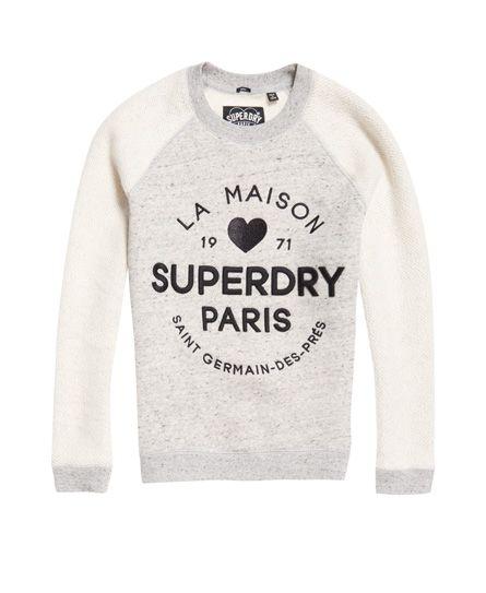 Superdry Applique Slim Sweatshirt